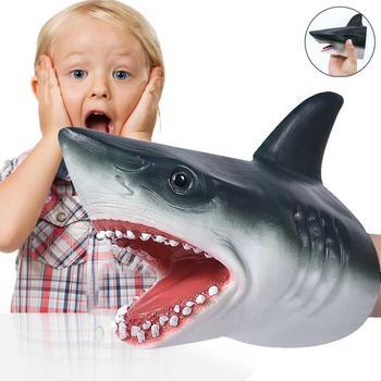 Gorąca sprzedaż rekin pacynka głowa zwierzęcia rękawiczki rysunek imitacje zwierząt dzieci Model zabawkowy Scaring Gag żarty prezenty dla dzieci Wholsales tanie i dobre opinie CN (pochodzenie) Tak ( 50 sztuk) przyjęcie urodzinowe Na Dzień Dziecka Na imprezę 1 pc