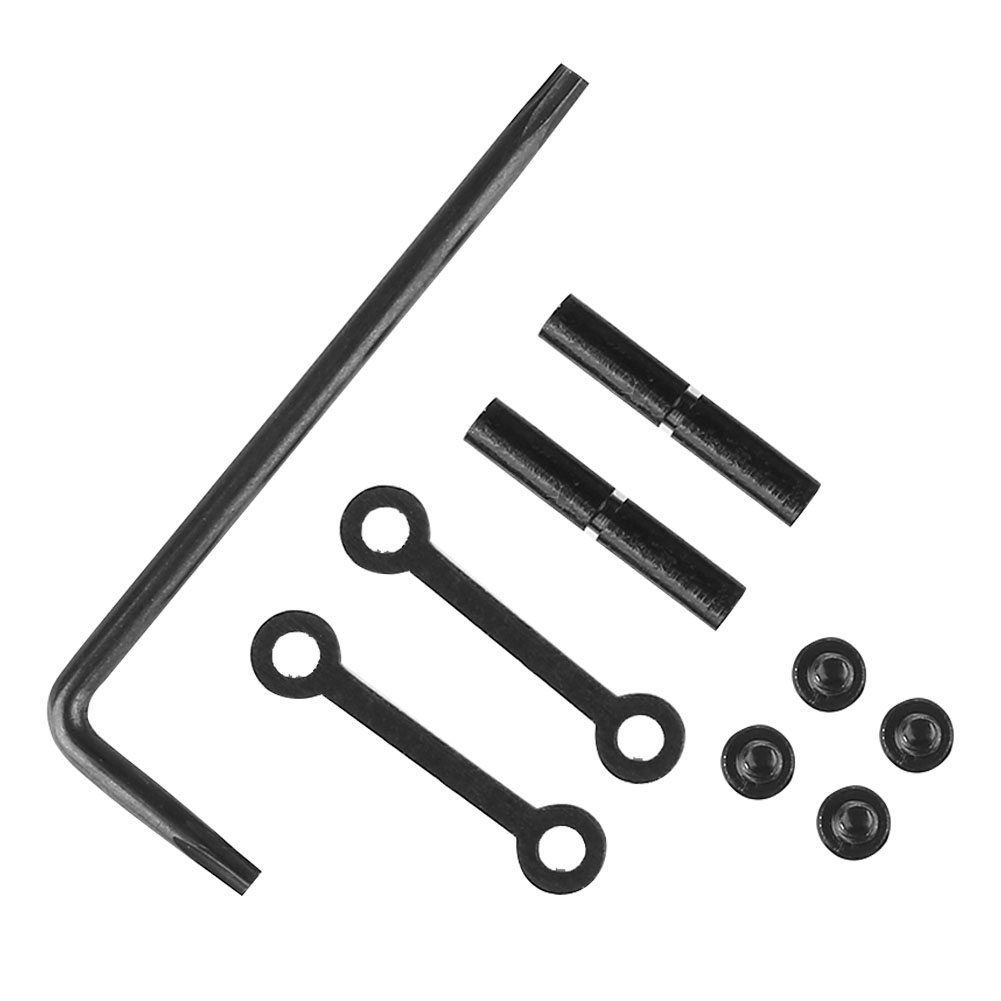 With Screw Tactical Side Plates Wrench Easy Install Anti Walk Pins Practical Retainer Hunting Accessories Trigger Non Rotating