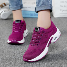 New style ladies low-top increase sneakers breathable comfortable tennis shoes breathable casual running shoes women's shoes