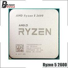 AMD Ryzen 5 2600 R5 2600 3.4 GHz 6 Core 12 Core 65W CPU โปรเซสเซอร์ YD2600BBM6IAF ซ็อกเก็ต AM4