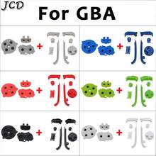JCD Buttons and Accessory For Gameboy Advance Replacement Keypads L R A B Button For GBA D Pads Power ON OFF Button