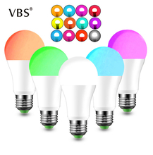1pc/4pcs Wireless Intellegent Bulb E27 B22 Magic RGB +W LED Change Color Light Bulb Dimmable IOS /Android home Lighting lamp Dec  Supported voice: Russian, German, Italian, French, English, Spanish, simplified Chinese стоимость