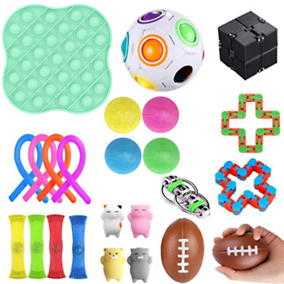 Fidget-Toys Autism Decompression-Toy Stress Anxiety Adults Pop for Kids 31PCS Bubble img5