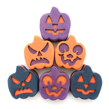 Halloween Pumpkin Silicone Soap Mold for Handmade Candy Chocolate Mould Making Tools