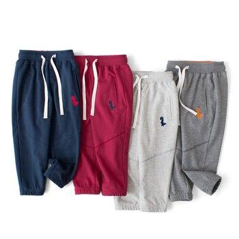 цена IENENS Kids Baby Fashion Elastic Waist Trousers Long Pants Children Boy Casual Long Pants Trousers Clothes онлайн в 2017 году