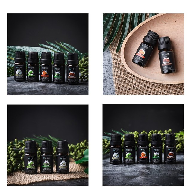 Inagla Sandalwood Essential Oil Pure Natural 10ML Pure Essential Oils Aromatherapy Diffusers Oil Healthy Calming Air Fresh Care 4