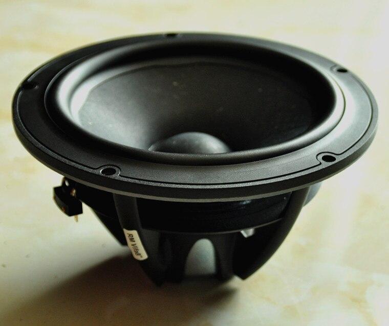 2PCS Original Vifa NE225W-08 8'' Midrange Speaker Driver Unit Neodymium Casting Aluminum Frame Wood Pulp Cone 8ohm/160W