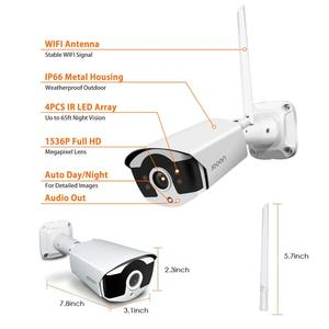 Image 5 - CCTV System Wireless Surveillance System Kit 3MP Home Security Camera System Outdoor WIFI Cameras Set Video Audio Recording
