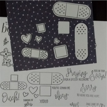Eastshape Band Aid Clear Stamps and Dies 2019 for Card Making Scrapbooking Album Stencil Cutting Die Stamp Sets with