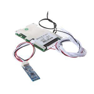 Image 1 - 13S ליתיום סוללה מגן לוח BMS 30A פולימר עם Bluetooth חכם אינטליגנטי UART ממשק גמיש סטטי חשמלי שיתוף