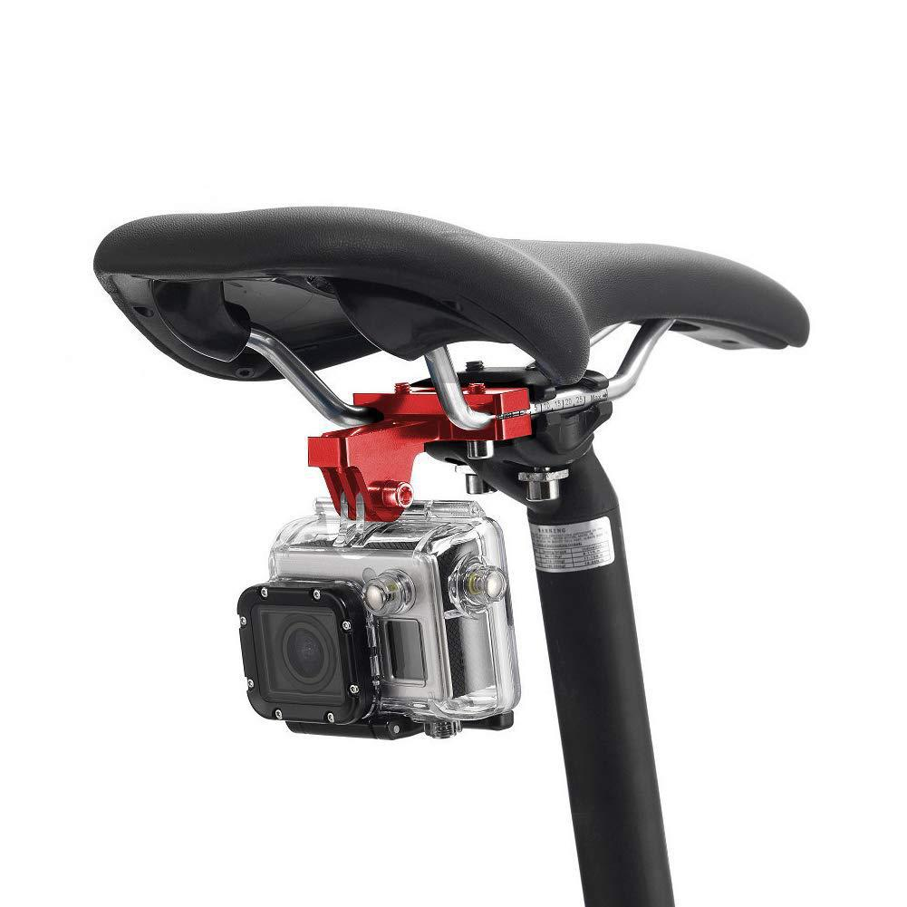 Bicycle Saddle Action Cam Bracket Mountain Bike Road Cycling Sport Camera Stabilizer Holder Seat Sport Camera Clip Bicycle Parts