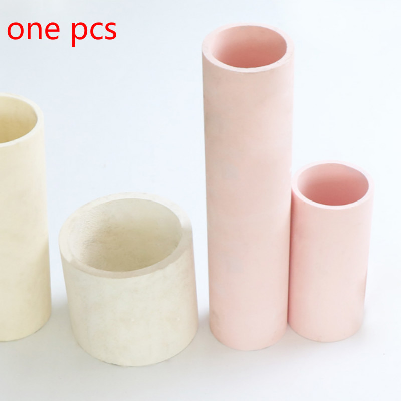 95 Ceramic Tube Corundum Tube Thermocouple Temperature Sensor Protective Tube High Temperature Ceramic Tube 1300 Degrees