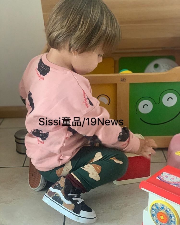 Baby Clothes Set  Mini Brand 2021 New Toddler Girl Clothes Kids Cartoon Hoodie Sweatshirt Tops Boys Jacket Pants Girls Outfits 5