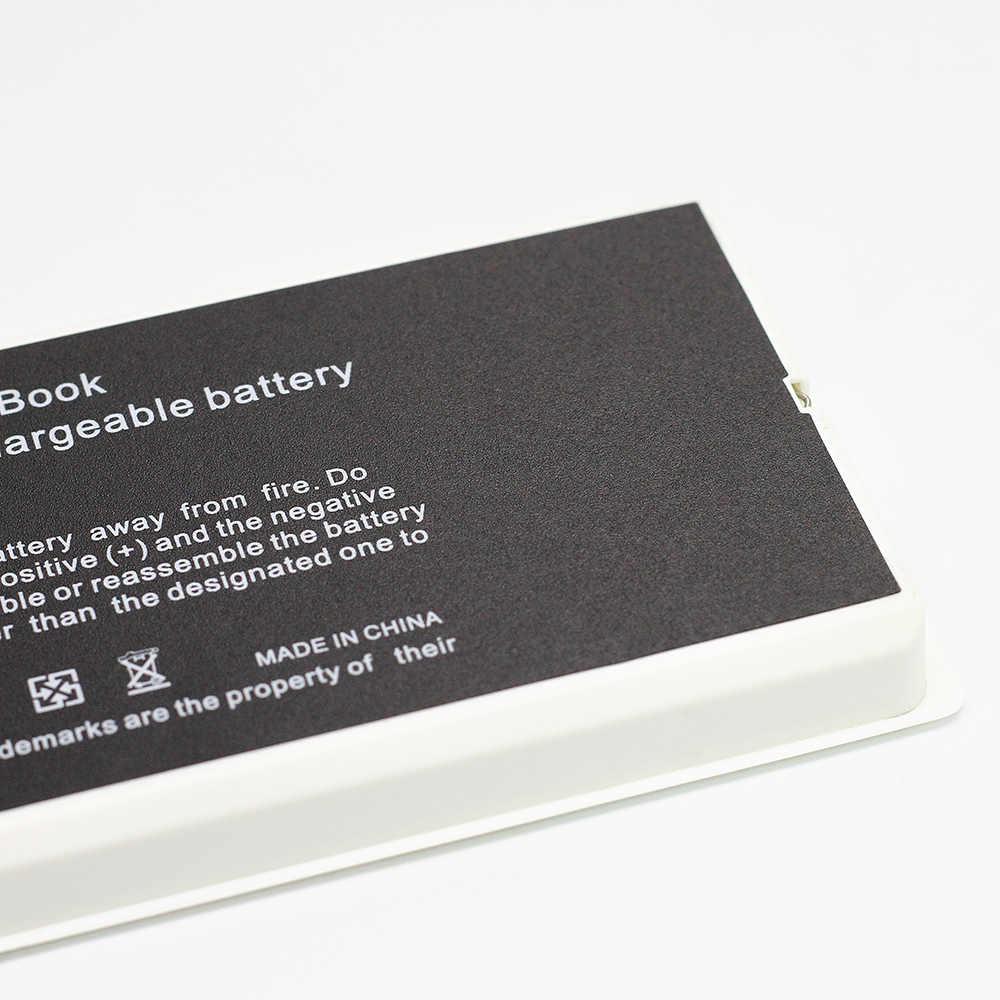 "Batterie 55Wh noir/blanc pour Apple A1185 A1181 pour Macbook 13 ""pouces MA472 MA701 MA566 MA566FE/A MA566G/A MA566J/A"