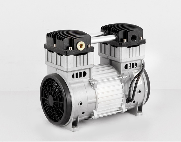 550W/600W/750W 1200Wsilent Air Compressor Head Silent Air Pump Painting Woodworking Dental Accessories Air Pump Pump Head Motor