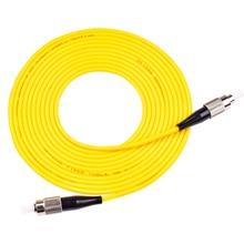 10 шт. высокое качество FC UPC 3 метра/5 метров/10 метров 9/125 симплексный одномодовый волоконно-оптический патч-корд кабель