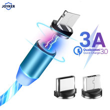 JOYKER Magnetic USB Cable Fast Charging USB Type C Cable Mag