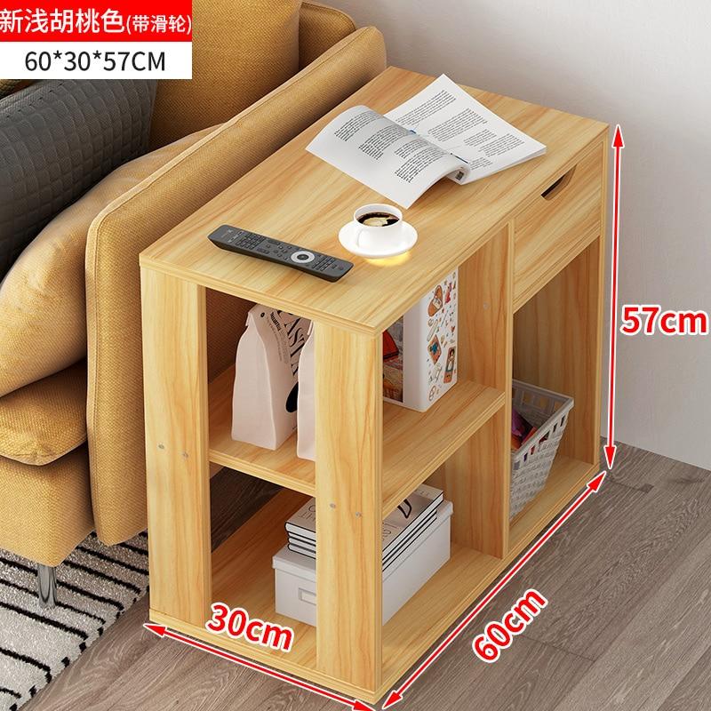 Б современный диван для гостиной угловой журнальный столик имитация дерева боковые шкафы прикроватный журнальный столик - Цвет: Style 11