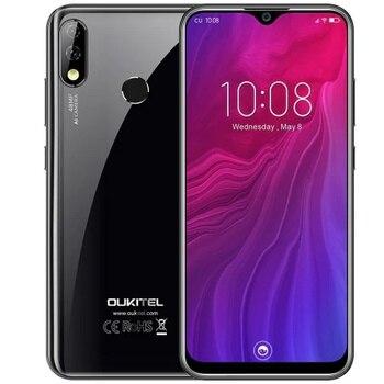 Перейти на Алиэкспресс и купить Смартфон OUKITEL Y4800, 6 ГБ ОЗУ 128 Гб ПЗУ, 6,3 дюйма FHD + Waterdrop, Android 9,0 Pie, сканер отпечатков пальцев, 4000 мАч, 9 В/2 А, 4G LTE мобильный телефон
