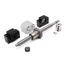 2 Chiếc Ballscrew SFU2505 397mm + Cấp Hỗ Trợ Bkbf20 + Coulpings + Hạt Nhà Ở DSG25H Cho Máy Cnc