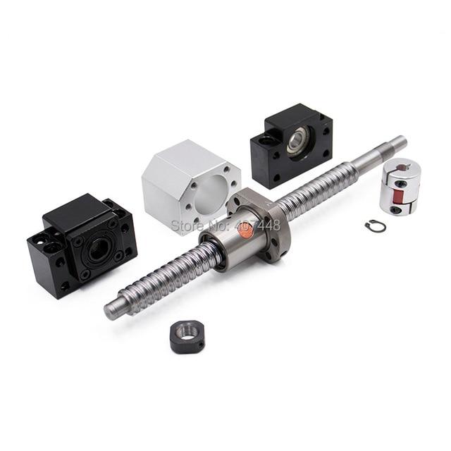 2 pcs ballscrew SFU2505 397mm + סוף תמיכה bkbf20 + coulpings + אגוז דיור DSG25H עבור cnc מכונת