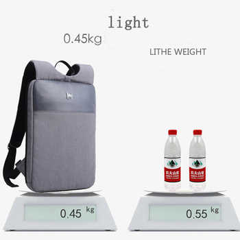 2020 new fashion slim lightweight 14 inch laptop backpack men\'s ultralight high quality business office work backpack waterproof
