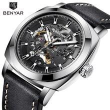 BENYAR Men's Watches Top Brand Luxury Business Automatic Mechanical