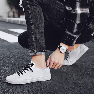 Image 5 - WOLF WHO 2020 Fashion Brand Men Casual Shoes Breathable White Sneakers Male Lace up Board Shoes Moccasins Tenis Masculino X 060