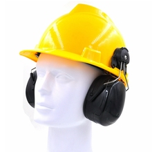 Noise Protection Earmuffs Site Working 95dB Hearing Protection Double Layer Anti Resonance Structure Soft Comfortable Earmuffs