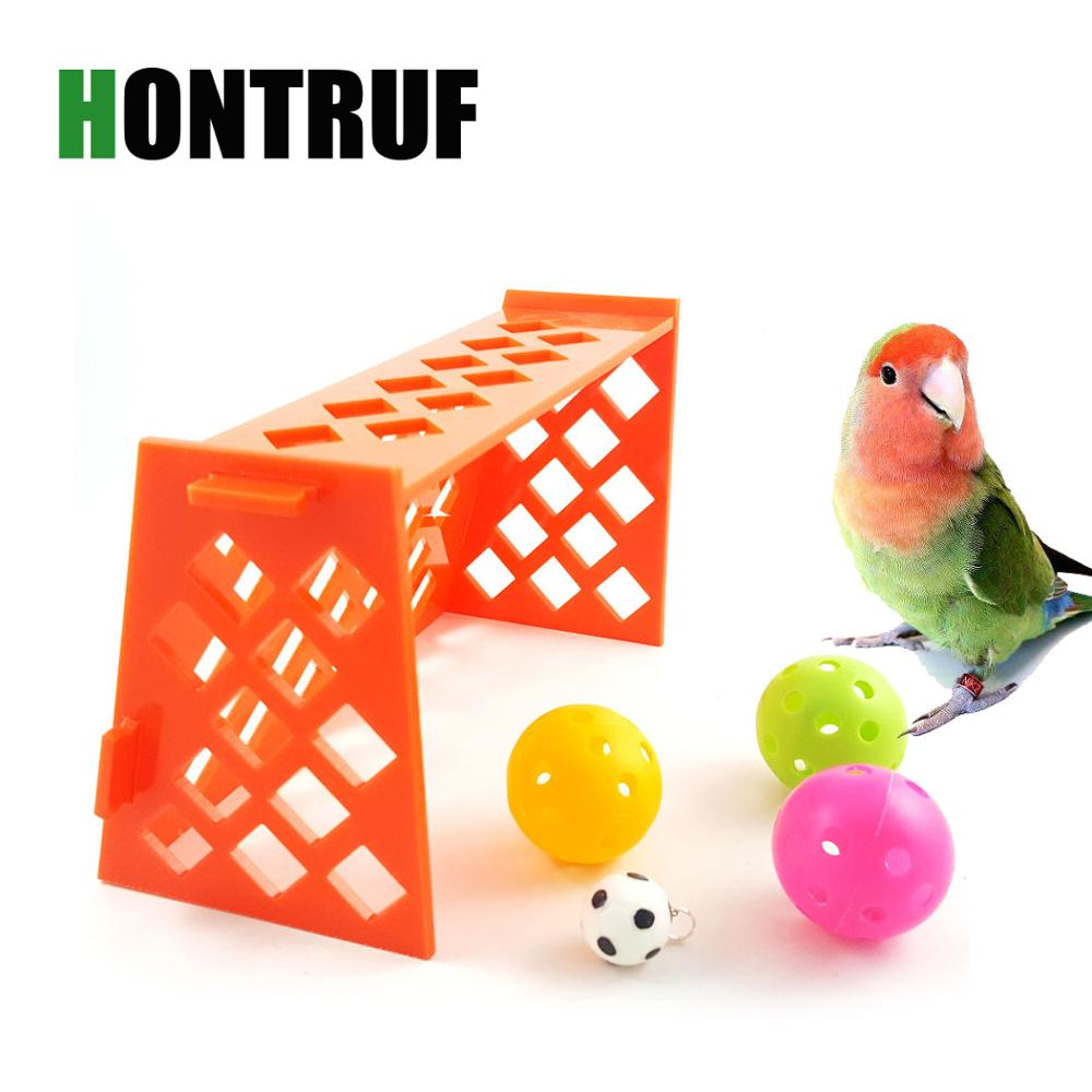 Parrot Puzzle Training Intellectual Development Toy Mini Football Field Parrot Desktop Toy Pet Bird Toy Pet Supplies