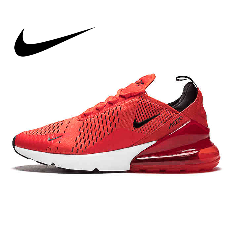 Original Authentic Nike Air Max 270180 Men's Sports Shoes Outdoor Running Shoes Comfortable And Durable Lightweight AH8050-100