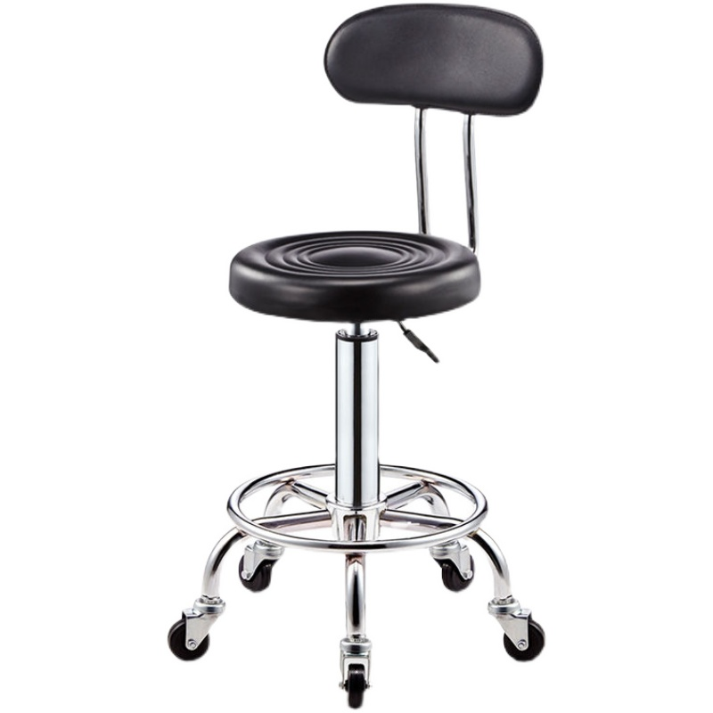 Bar stool hair chair swivel chair adjustable lift stool hydraulic swivel stool spa tattoo facial massage salon furniture