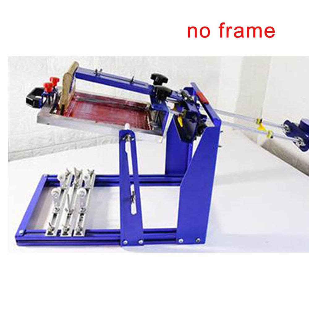 Fast Free Shipping Manual Screen Cylinder Printing Machine For Bottle/cup/pen Surface Curve Press