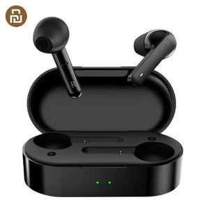 Image 1 - Youpin T3 TWS dokunmatik kontrol ile kablosuz kulaklık çift mikrofon Bluetooth V5.0 spor kulaklıklar 3D Stereo kulaklık