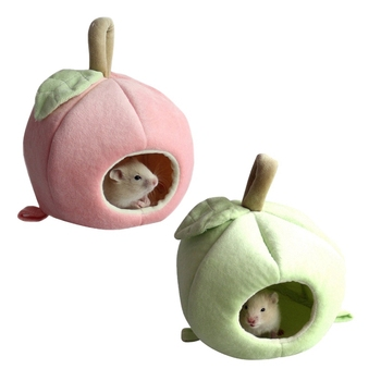 Small Pet Warm Nest Fleece Sleeping Bag For Hamster, Rabbit, Rat Cute Habitat Cave 4