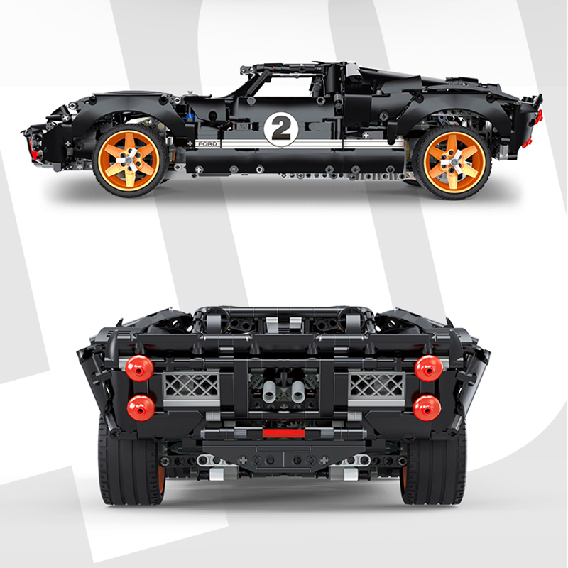 TECHNIC HAPPY BUILD YC-QC010 Ford GT40 MK I 1967 Compatible MOC 33807