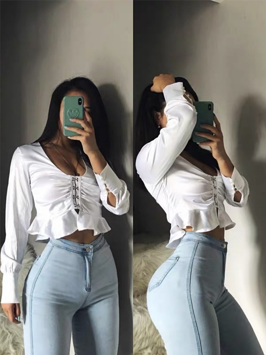 Jeans Women Leggings Tight Slim-Pants Sexy High-Waisted Fashionable Spring Versatile