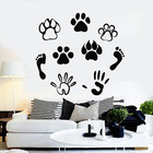 Pets Paws Wall Decal...
