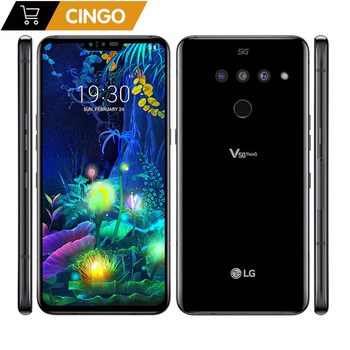Original unlock LG V50 ThinQ V500N 6.4 inch 4000mAh NFC 5G 6GB RAM 128GB ROM Android Octa Core dual front 3 rear camera bobarry s106 10 1 tablets android8 0 octa core ram 6gb rom 128gb dual camera 8mp dual sim tablet pc wifi gps bluetooth phone