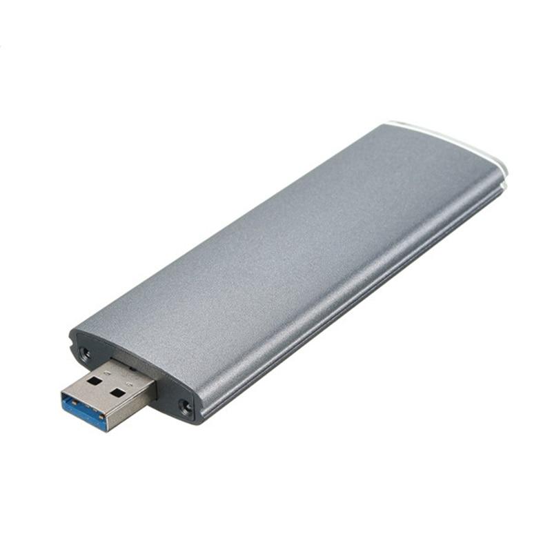 M.2 Ngff Ssd Sata To Usb 3.0 Converter Adapter Case External Enclosure Storage Case|  - title=