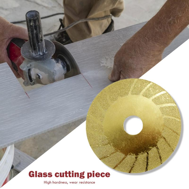 Diamond Chip Grinding Saw Blade Glass Cutting Wheel Discs Polishing Grinding Rotary Gadgets Mandrel Circular Saw Blades