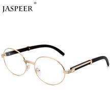 JASPEER Runde Sonnenbrille Frauen Kleine Rahmen Klassische Sonnenbrille Gelb Blau Objektiv Männer Steampunk Brillen Retro Shades Brillen