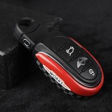 تصفيف السيارة مفتاح حافظة غطاء سلسلة علم الاتحاد الديكور لسيارات BMW Mini كوبر S JCW واحد D F54 F55 F56 F57 F60 اكسسوارات السيارات