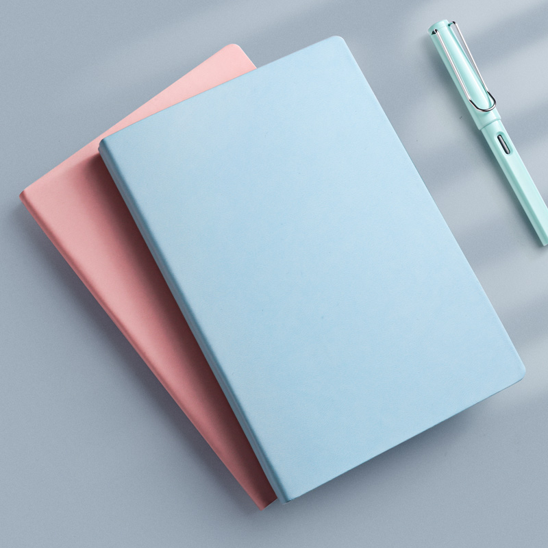 A5 Plain Journal 144 Sheets 100g Soft Cover Blank Notebook