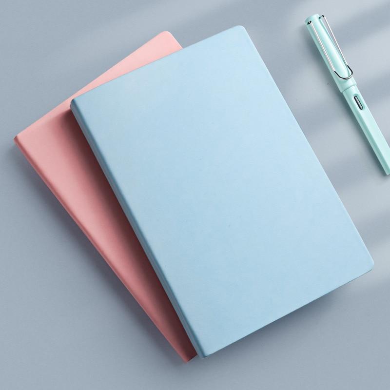 A5 Plain Journal 144 Sheets 100g Soft Cover Blank Notebook