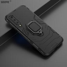 Luxo anel magnético caso do carro para xiaomi mi 8 9 se mi8 mi9 a2 lite redmi 5 plus 6 pro nota 4 suporte armadura completa do telefone móvel capa