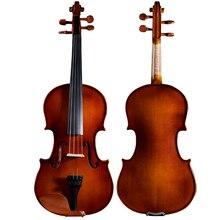 Горячая Распродажа, Скрипка для начинающих, ручная работа, для детей, для игры, для взрослых, музыкальные инструменты, Профессиональная деревянная скрипка со скрипичным бантом