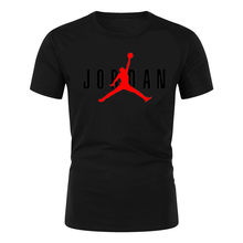 2021 High Quality Summer Jodan Men's Casual Short 3D Men's And Women's Fashion O-Neck T-Shirt Casual Breathable XXS-6XL