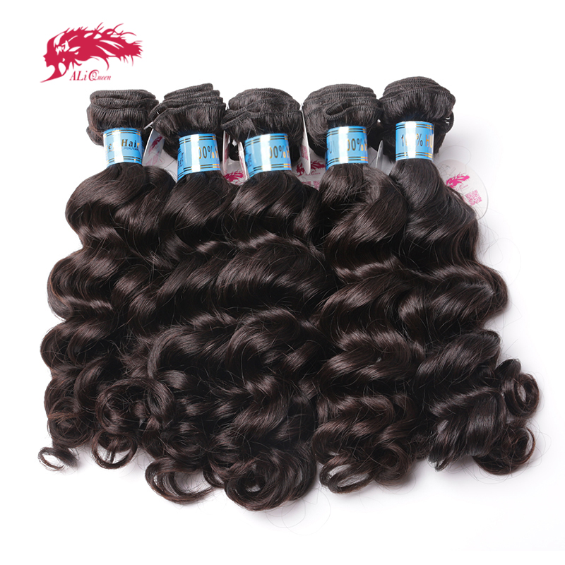 Ali Queen Hair Products Wholesales Price With Free Shipping 10Pcs Lot Virgin Peruvian Natural Wave Human Hair Weave