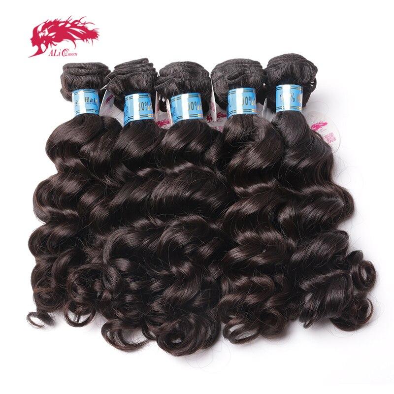 Ali reine cheveux produits en gros prix avec livraison gratuite 10 pièces Lot vierge péruvienne vague naturelle armure de cheveux humains